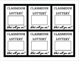 Classroom Scratch Off Lottery Tickets Template, diy scratc