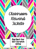 Classroom Scratch Off Reward Tickets