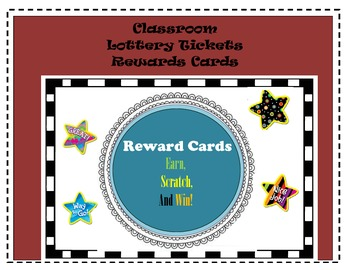 Classroom Scratch off Lottery Tickets