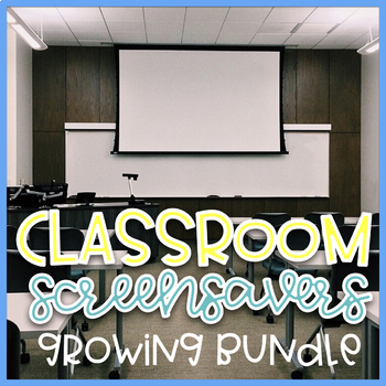 Classroom Screensavers and Backgrounds~ EDITBALE
