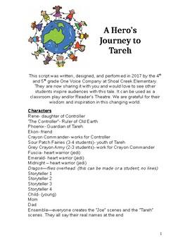 Readers Theatre Classroom Script: A Hero's Journey to Tareh