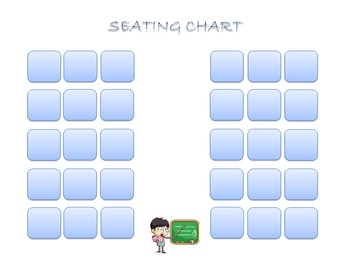 Classroom Seating Chart 2