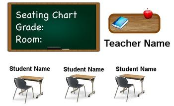 Classroom Seating Chart-Flipchart