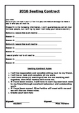 Classroom Seating Contract
