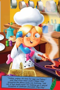 Classroom Set - Chef Louie and the Chewy Gluey Chocolate Chips Picture Book