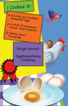 Classroom Set - Cracking Eggs Cookbook - How to Cook with Chef Louie