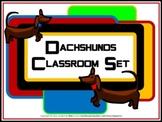 Classroom Set- Dog (Dachshund)