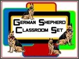 Classroom Set- Dog (German Shepherd)