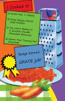 Classroom Set - Grating Cookbook - How to Cook with Chef Louie