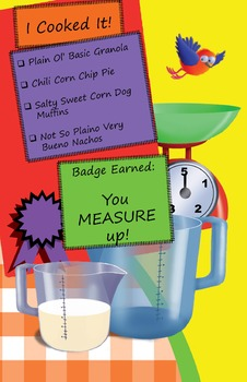 Classroom Set - Measuring Cookbook - How to Cook with Chef Louie