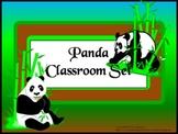 Classroom Set- PANDA THEME