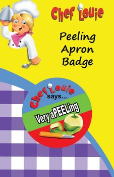 Classroom Set - Peeling Apron Reward Badge - How to Cook with Chef Louie