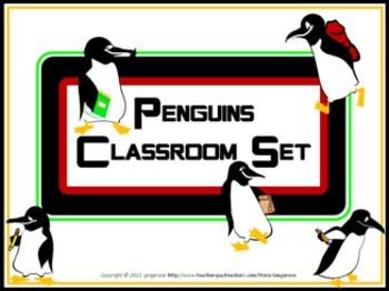 Classroom Set- Penguins