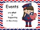 Patriotic Theme 5 Ws & 1 H  Dolch Sight Words Classroom Se