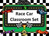 Classroom Set- RACE CAR THEME