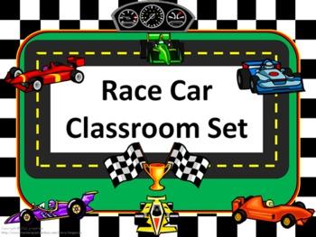 Race Car Multiplication Quizzes
