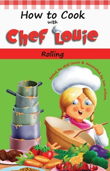 Classroom Set - Rolling Cookbook - How to Cook with Chef Louie