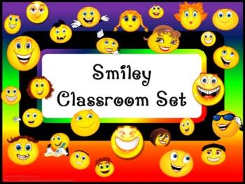 Classroom Set- SMILEY FACE THEME