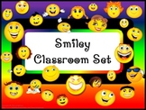 Classroom Set- SMILEY FACE THEME