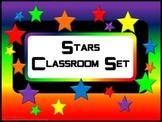 Classroom Set- STAR THEME