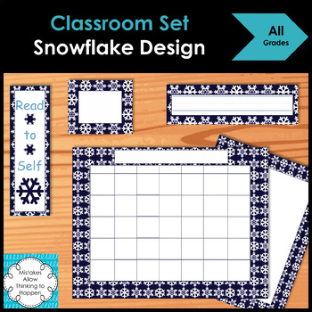 Classroom Set- Snowflake Design