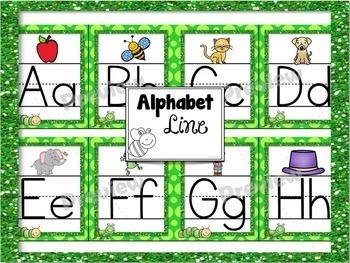 Classroom Decor Bundle Bug Theme