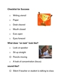 Classroom Set-Up Forms: Checklist for Success