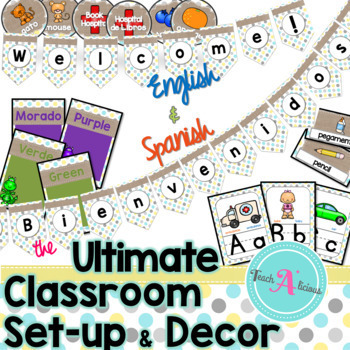 Classroom Set Up & Organization | Shabby Chic