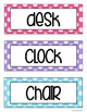 Classroom Set-Up Starter Kit! {Polka Dot Theme Bundle}