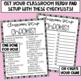 Classroom Setup Checklist Freebie
