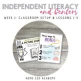 Kindergarten Heroes™ Kindergarten Literacy Centers (Week 1)