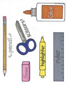 Classroom Set Up/Organizational Visuals