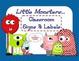 Classroom Setup Signs & Labels Pack (LM)