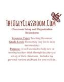 Classroom Setup and Organization Brainstorm