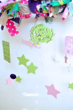 Classroom Shabby Chic Decoration- Inspirational Mobile