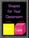 Classroom Shape Displays