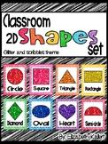 Classroom Shape Posters (2D)