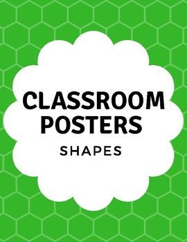 Classroom Shape Posters