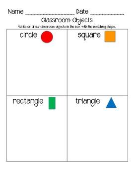 Classroom Shapes