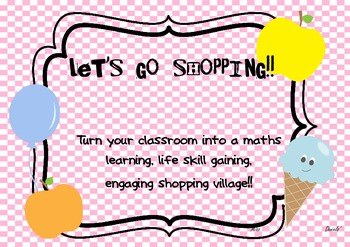 Classroom Shop Math Village