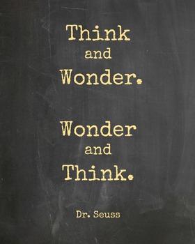 Classroom Sign: Dr. Seuss