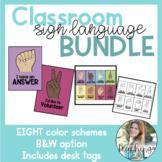Classroom Sign Language BUNDLE