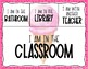 Classroom Sign Out Chart: Ice Cream Theme