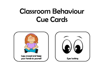 Classroom Signage - Behaviour, Jobs and Timetable