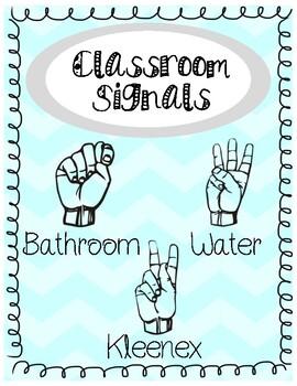 Classroom Signals Poster