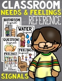 Classroom Signals and Feelings Chart