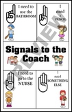 Classroom Signals to the Coach
