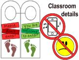 Classroom Signs&DoorHanger
