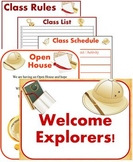 Classroom Signs, Forms and Bulletin Board Materials ~ Them