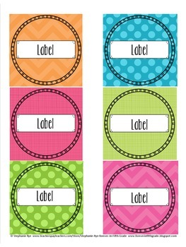 Classroom Signs & Labels - Editable Version
